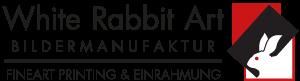 White Rabbit Art Retina Logo